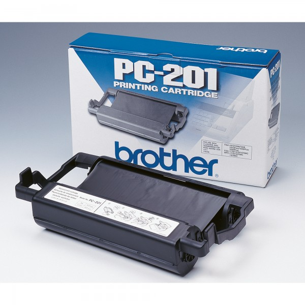 Brother Thermotransferrolle PC201 420Seiten schwarz