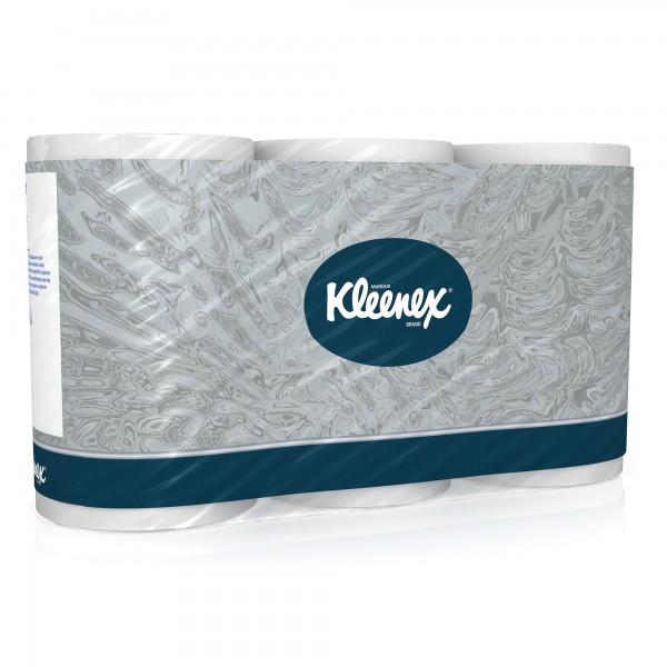 Kleenex Toilettenpapier 8440 3lagig 350Blatt wei