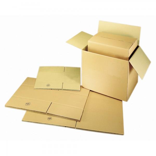 Versandkarton 30,5x21,5x18cm 10kg Wellpappe braun