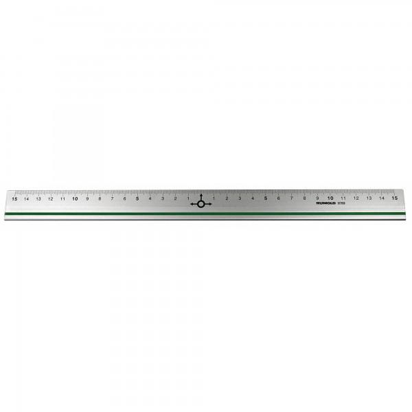 RUMOLD Lineal 937030 30cm Aluminium silber