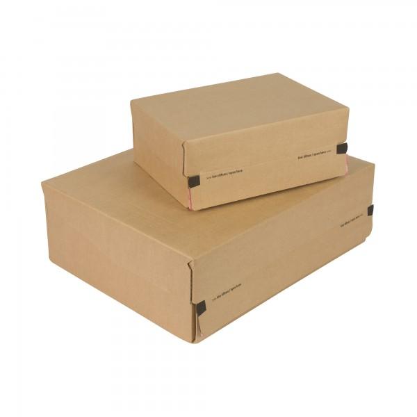 Soennecken Versandkarton Postbox 5851 25x9,6x17,7cm Pappe braun