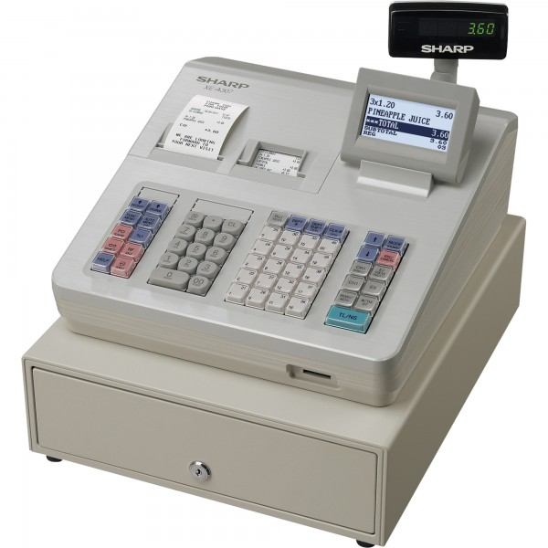 Sharp Registrierkasse XE-A307 wei